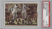 Green Bay Packers vs Los Angeles Rams [PSA 4]