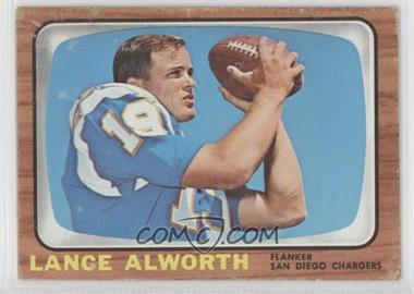1966 Topps #119 - Lance Alworth [Good to VG‑EX]