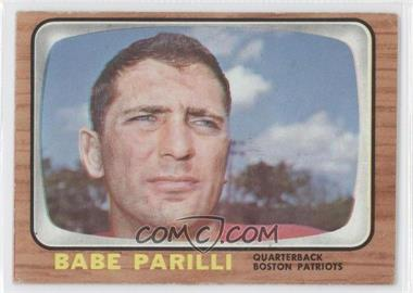 1966 Topps #12 - Babe Parilli