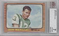 Don Maynard [BVG7]