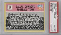 Dallas Cowboys Team [PSA8]