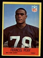 Francis Peay [EXMT]