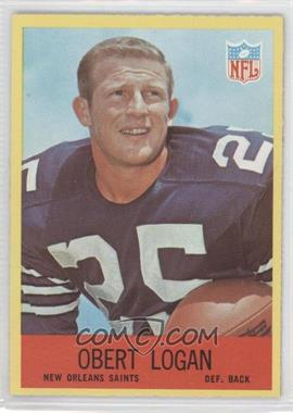 1967 Philadelphia #126 - Obert Logan