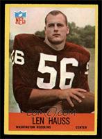 Len Hauss [EX]