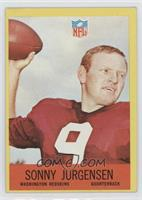 Sonny Jurgensen [Poor to Fair]