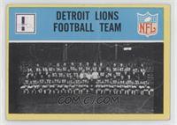 Detroit Lions Team [PoortoFair]