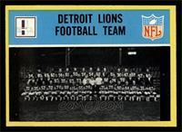 Detroit Lions Team [NM]