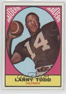 1967 Topps - [Base] #108 - Larry Todd