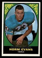 Norm Evans [NM]
