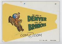 Denver Broncos Team [GoodtoVG‑EX]