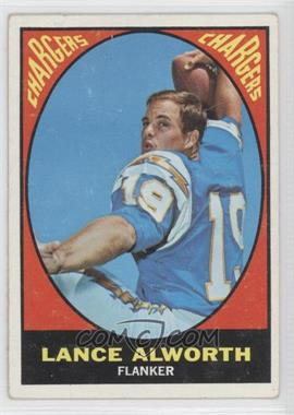 1967 Topps #123 - Lance Alworth [GoodtoVG‑EX]