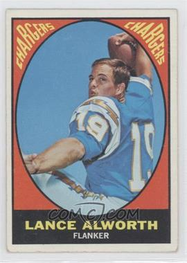 1967 Topps #123 - Lance Alworth [Good to VG‑EX]