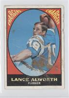 Lance Alworth [Poor to Fair]