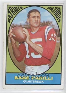 1967 Topps #2 - Babe Parilli