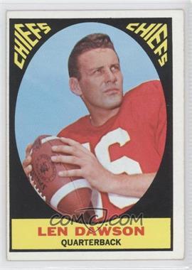 1967 Topps #61 - Len Dawson
