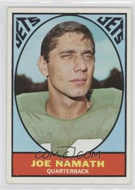 1967 Topps #98 - Joe Namath