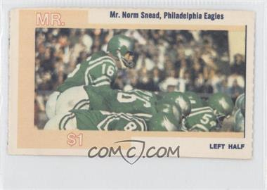 1968 American Oil Mr. and Mrs. - [Base] #NOSN.1 - Norm Snead