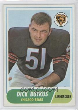 1968 Topps - [Base] #127 - Dick Butkus