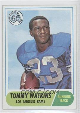 1968 Topps - [Base] #182 - Tom Watkins