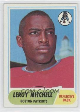 1968 Topps - [Base] #45 - Leroy Mitchell