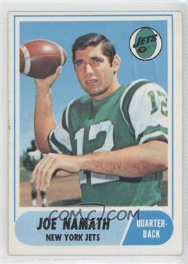 1968 Topps - [Base] #65 - Joe Namath