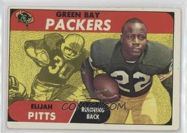 1968 Topps - [Base] #79 - Elijah Pitts [GoodtoVG‑EX]