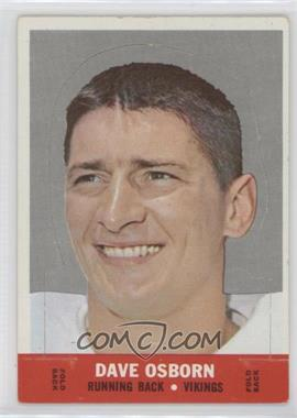 1968 Topps Stand-Ups #DAOS - Dave Osborn [Good to VG‑EX]