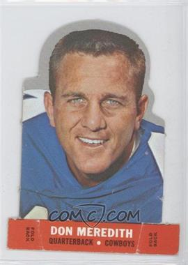 1968 Topps Stand-Ups #DOME - Don Meredith