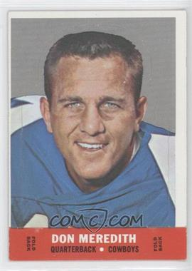 1968 Topps Stand-Ups #N/A - Don Meredith