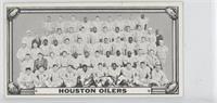 Houston Oilers Team