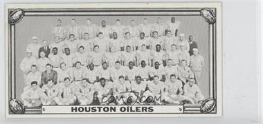 1968 Topps Test Teams #N/A - Houston Oilers Team