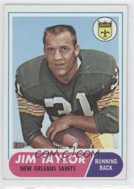 1968 Topps #160 - Jim Taylor
