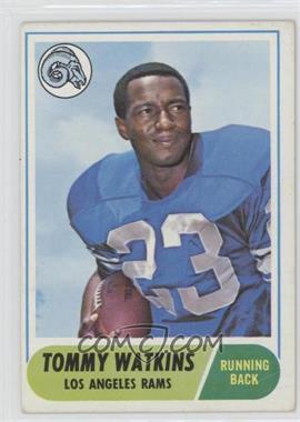 1968 Topps #182 - Tom Watkins