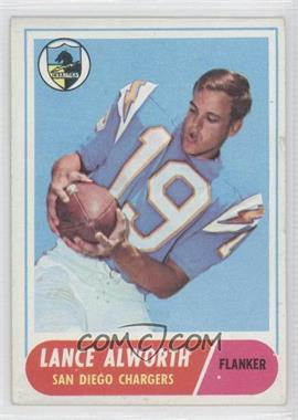 1968 Topps #193 - Lance Alworth [Good to VG‑EX]