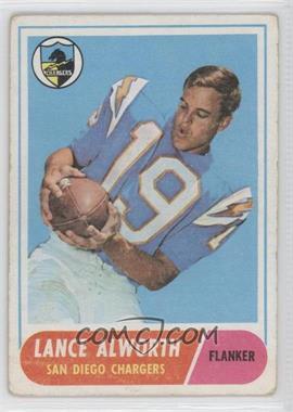 1968 Topps #193 - Lance Alworth [GoodtoVG‑EX]
