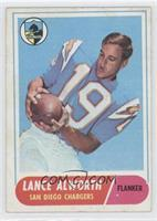 Lance Alworth [Good to VG‑EX]
