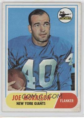 1968 Topps #211 - Joe Morrison