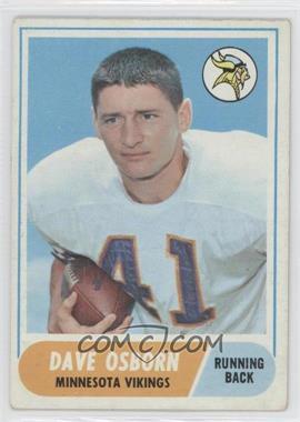 1968 Topps #29 - Dave Osborn