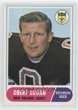 1968 Topps #4 - Obert Logan