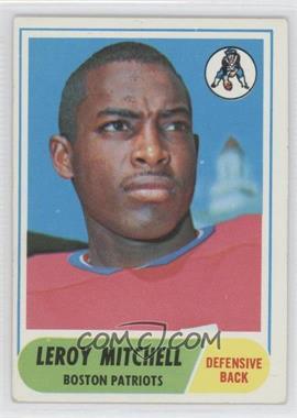 1968 Topps #45 - Leroy Mitchell
