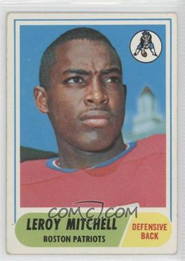 1968 Topps #45 - Leroy Mitchell [Good to VG‑EX]