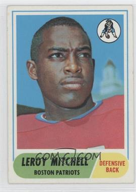 1968 Topps #45 - Leroy Mitchell