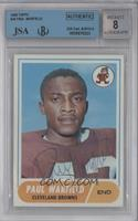 Paul Warfield [BGS/JSA Certified Auto]