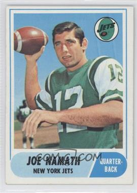 1968 Topps #65 - Joe Namath