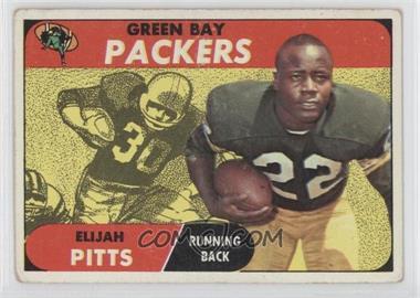 1968 Topps #79 - Elijah Pitts [GoodtoVG‑EX]