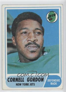 1968 Topps #91 - Cornell Gordon [GoodtoVG‑EX]
