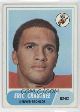 1968 Topps #95 - Eric Crabtree [Good to VG‑EX]