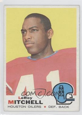 1969 Topps - [Base] #183 - Leroy Mitchell [GoodtoVG‑EX]