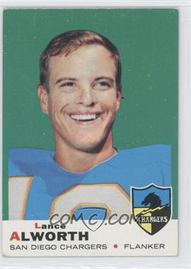1969 Topps - [Base] #69 - Lance Alworth