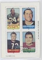 Willie Wood, Steve Stonebreaker, Jim Cadile, Vince Promuto